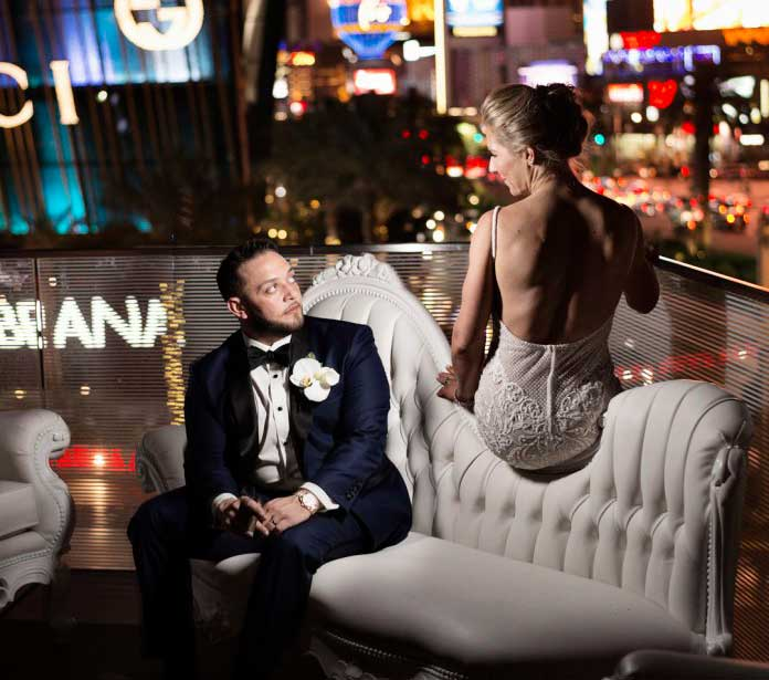 Luxury Wedding At The Mandarin Oriental In Las Vegas