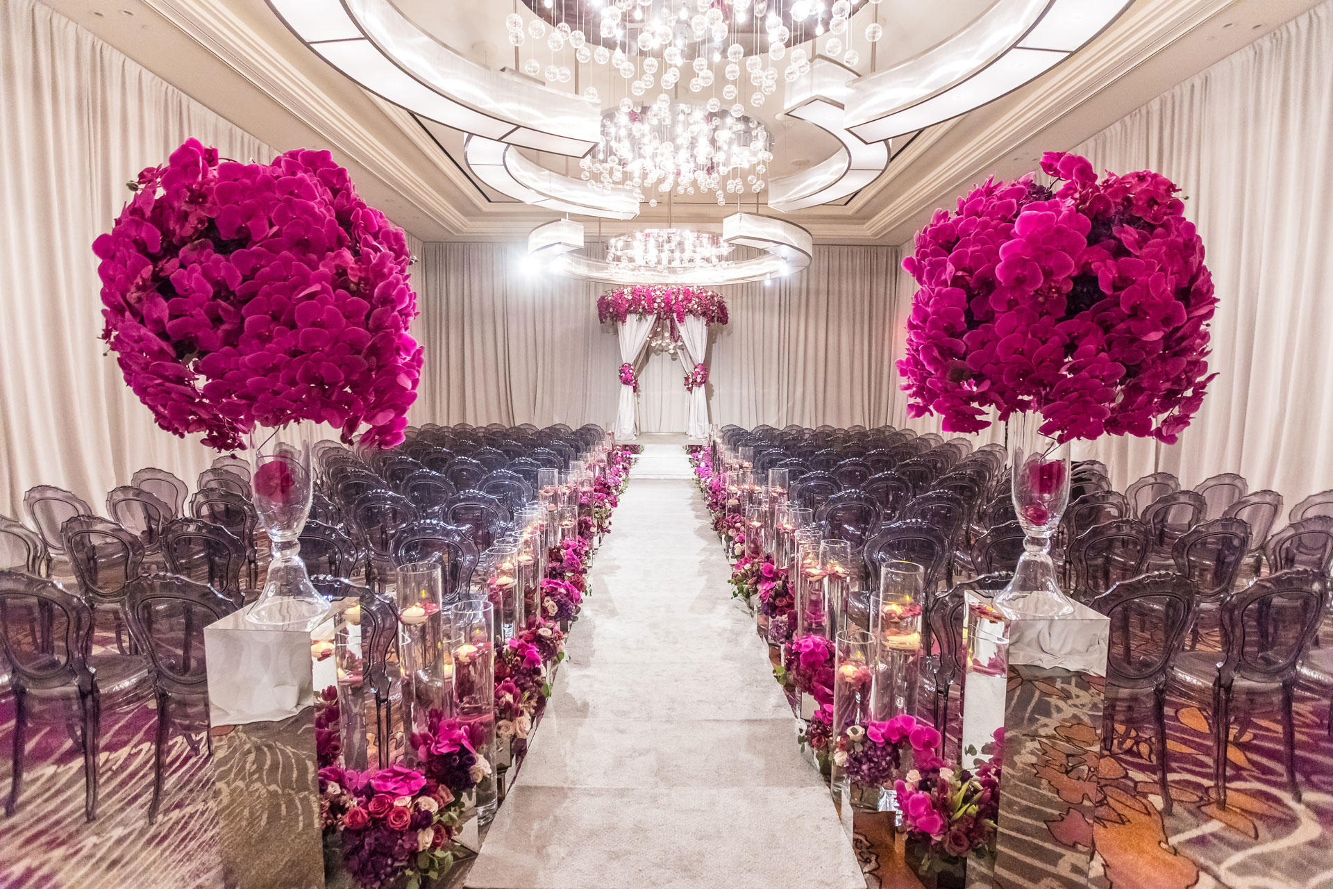 Fuchsia Dream Wedding