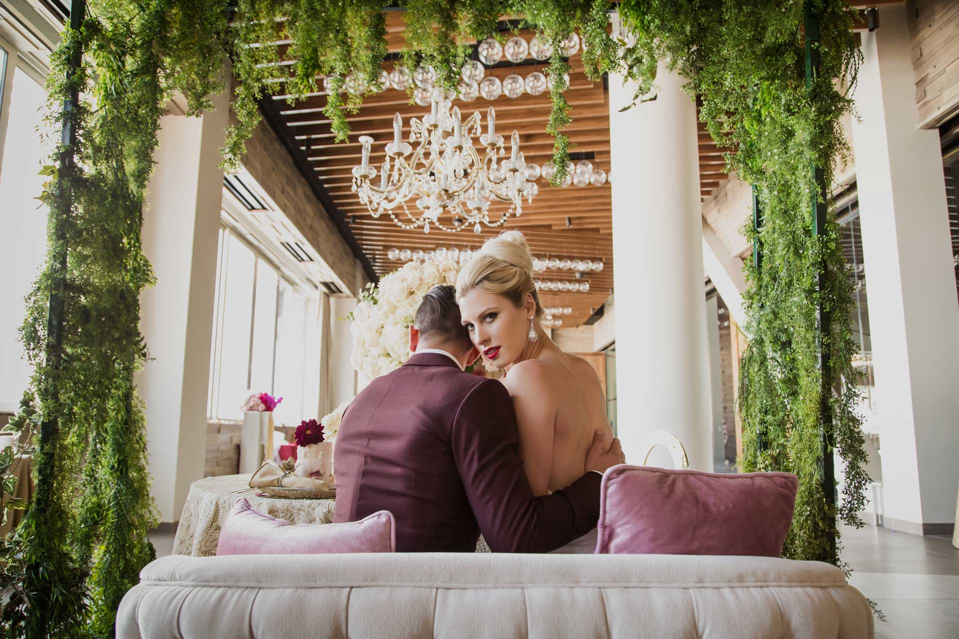 Andrea Eppolito Styled Shoot: Ombre Intimate Affair