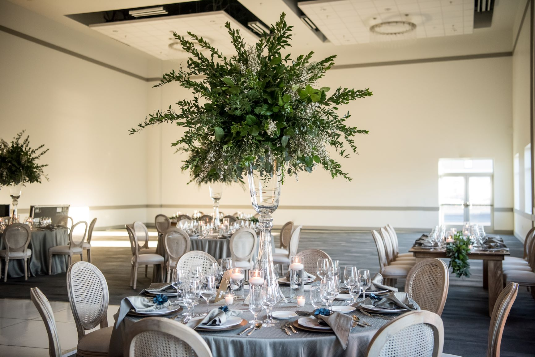Centerpiece greenery